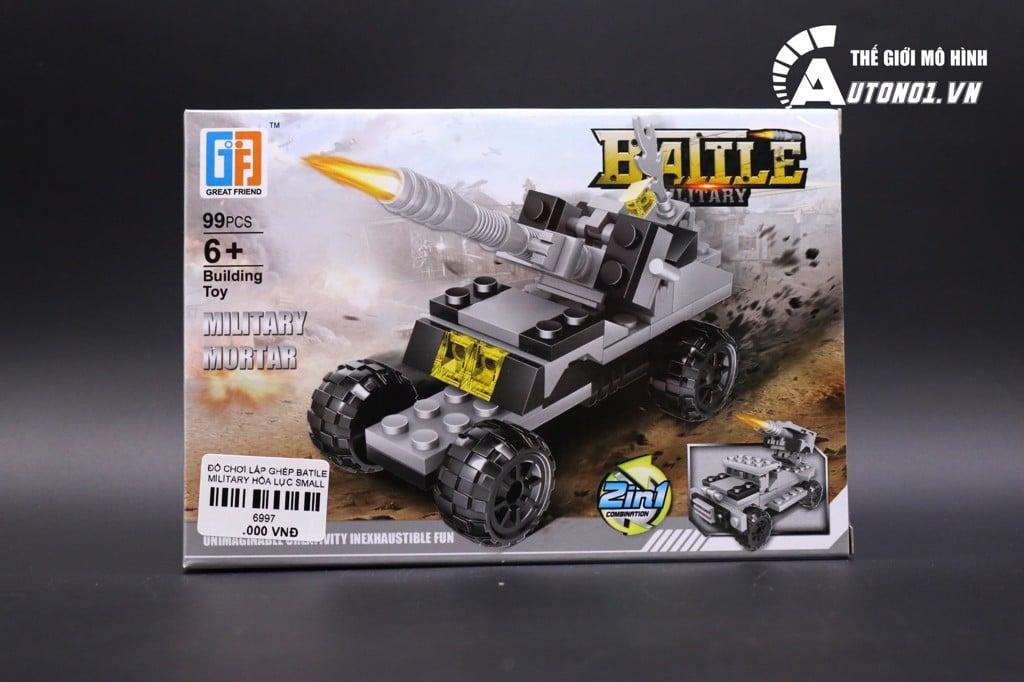 ĐỒ CHƠI LẮP GHÉP NON LEGO BATILE MILITARY HÒA LỰC SMALL 6997