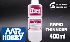 DUNG DỊCH PHA SƠN RAPID THINNER T-117 400ML MR.HOPPY PK193