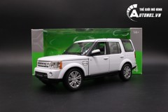 MÔ HÌNH LAND ROVER DISCOVERY 4 WHITE 1:24 WELLY 24008W