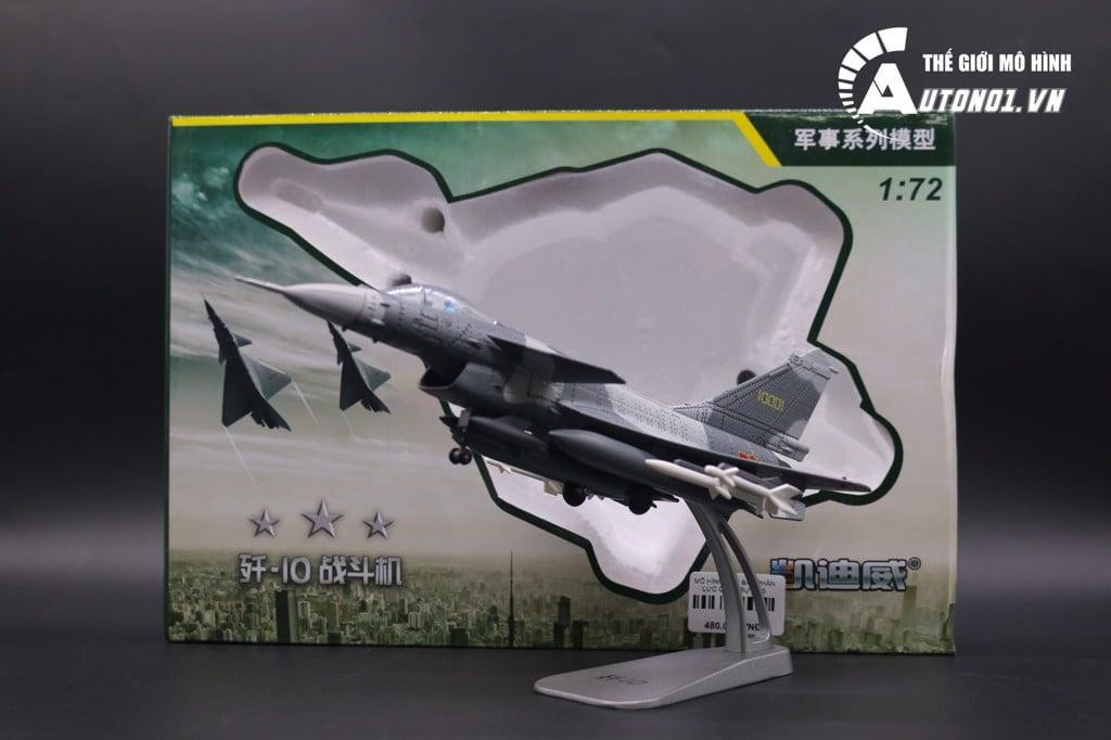 MÔ HÌNH MÁY BAY PHẢN LỰC QUÂN SỰ F-15 KAIDIWEI 7004