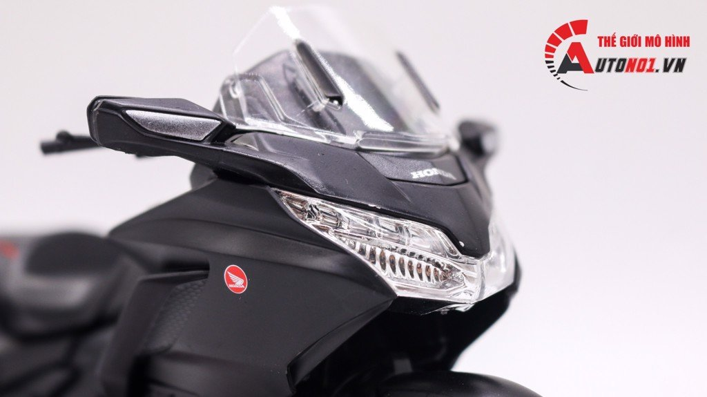 MÔ HÌNH XE HONDA GOLDWING 2020 BLACKRED 1:12 WELLY 7490