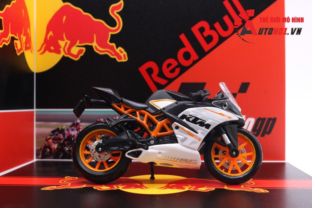 DIORAMA DECOR SHOWROOM REDBULL MÔ TÔ GP 1:18 20X18X15CM PK066