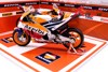 DIORAMA DECOR SHOWROOM HONDA REPSOL MÔ TÔ GP 1:18 20X18X15CM PK067