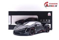 MÔ HÌNH XE FENYR SUPERSPORT BLACK 1:24 HENGTENG MODEL 6783
