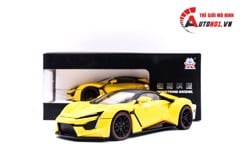 MÔ HÌNH XE FENYR SUPERSPORT YELLOW 1:24 HENGTENG MODEL 6785