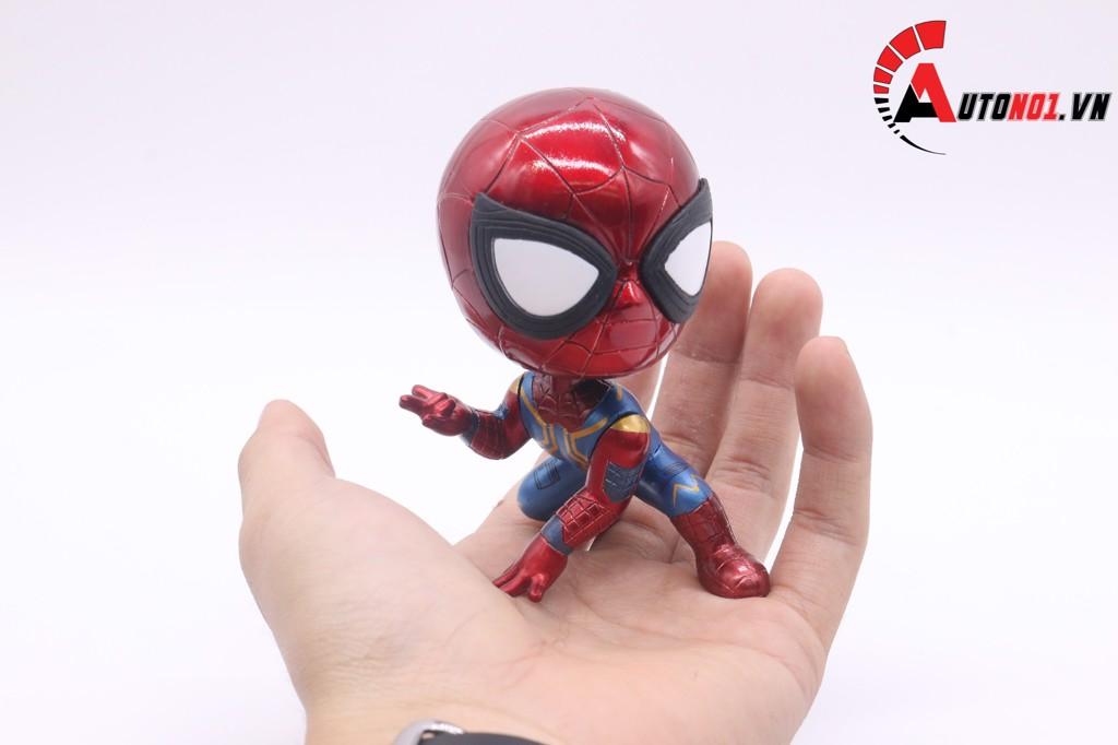 MÔ HÌNH NHÂN VẬT MARVEL SPIDER MAN 10CM
