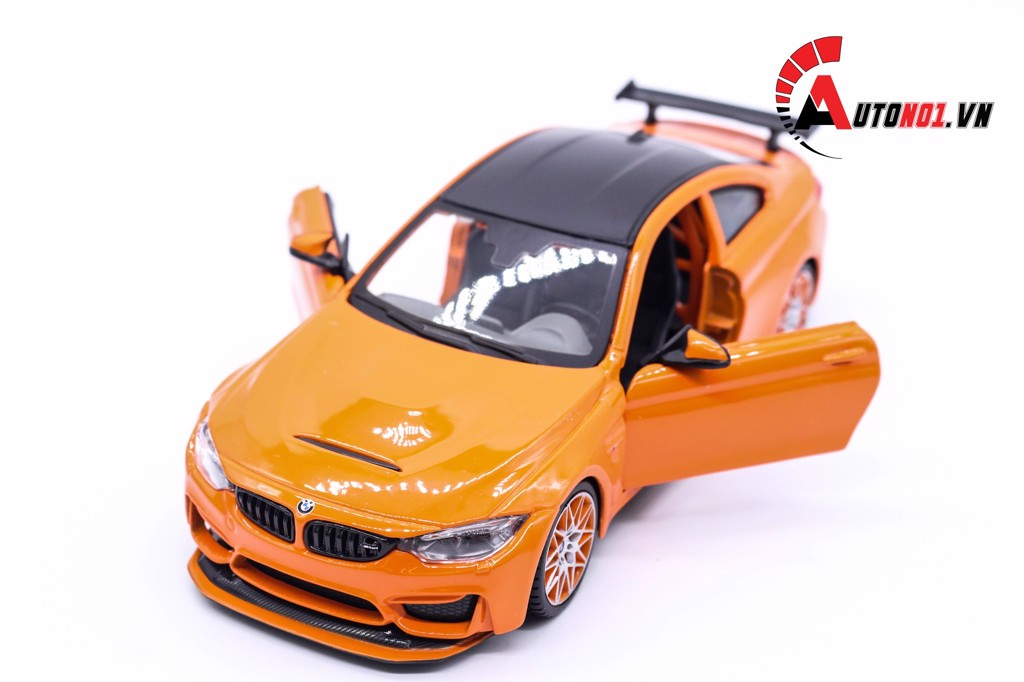 MÔ HÌNH XE BMW M4 GTS ORANGE 1:24 MAISTO 5119