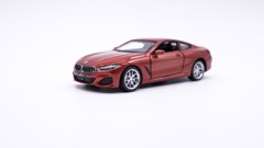 MÔ HÌNH XE BMW M850i COUPLE ORANGE 1:35 DIECAST METAL 7462