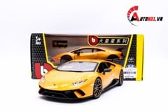 MÔ HÌNH LAMBORGHINI HURACAN PERFORMANTE ORANGE 1:24 BBURAGO 5725