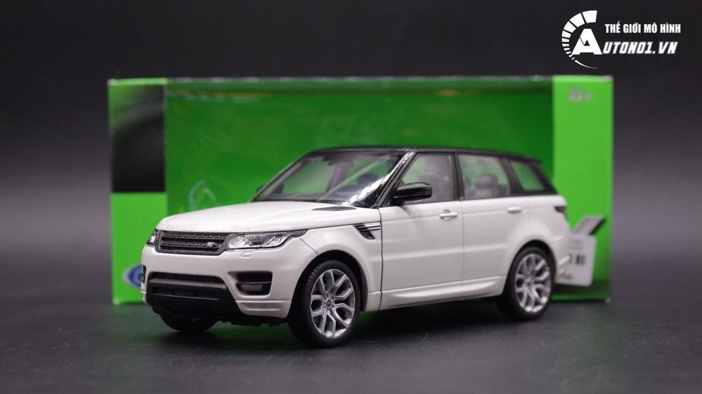 WELLY LAND ROVER RANGE ROVER SPORT WHITE 1:24 WELLY 2067