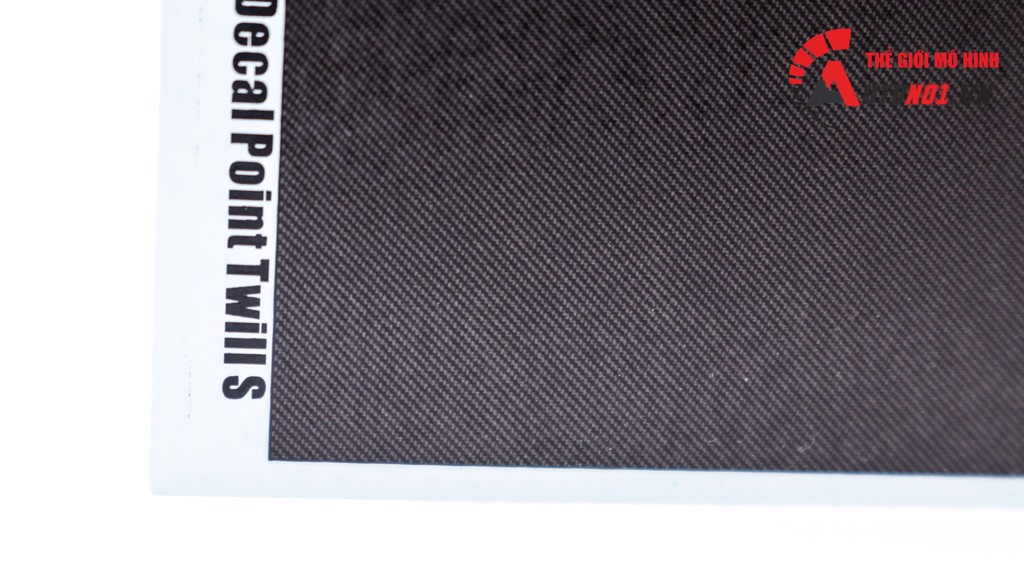 PHỤ KIỆN DECAL ĐỘ XE CARBON FIBER DECAL POINT TWILL S DC288