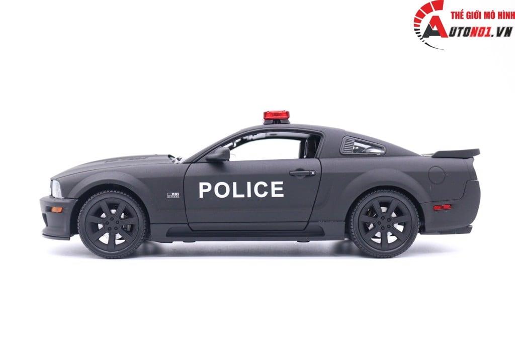 MÔ HÌNH XE FORD MUSTANG S281 POLICE 1:18 WELLY 1299