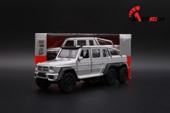 MÔ HÌNH MERCEDES BENZ G63 AMG 6X6 GREY 1:36 WELLY 5161