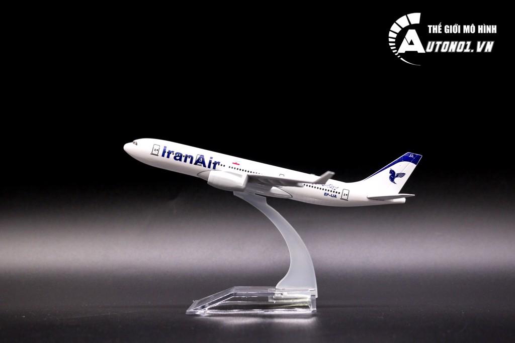 MÔ HÌNH MÁY BAY AIRBUS A330 IRAN 16CM EVERFLY 6851