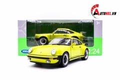 MÔ HÌNH PORSCHE 911R TURBO 1974 GREEN 1:24 WELLY 6009