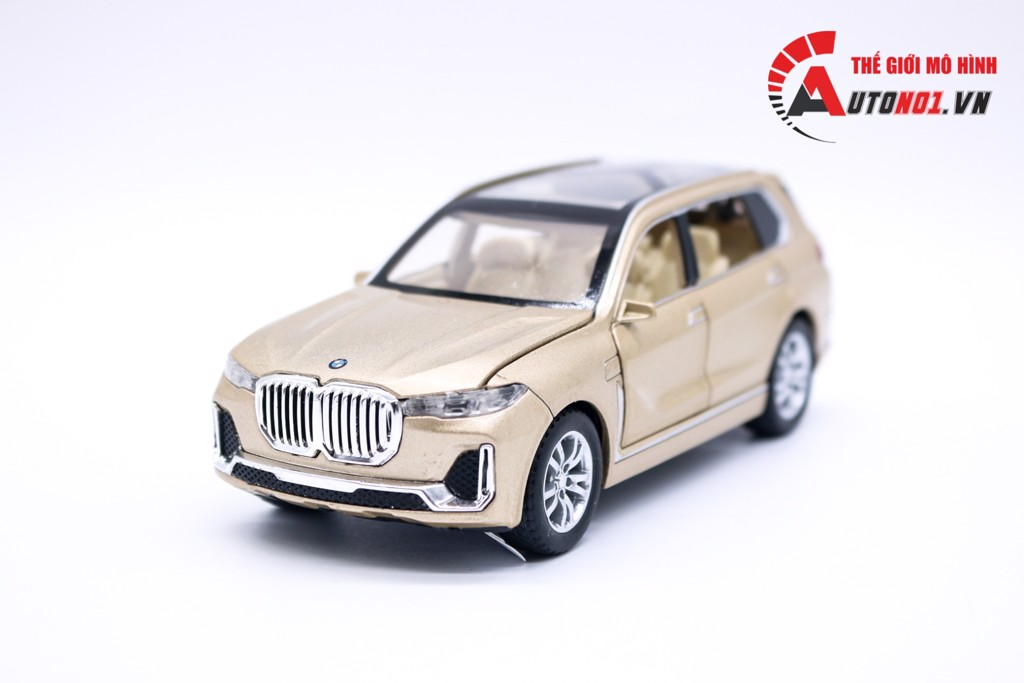 MÔ HÌNH XE BMW X7 GOLD 1:32 CHE ZHI KHÔNG HỘP