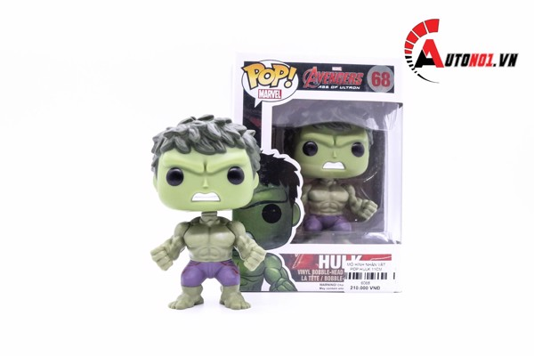 MÔ HÌNH NHÂN VẬT POP HULK 11CM 6068
