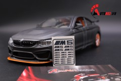 DECAL KIM LOẠI BMW M5 6315 1:18 DC026
