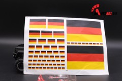 DECAL DÁN CỜ GERMANY DC049