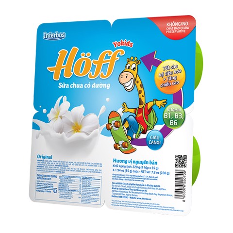 Kid Yogurt Sweetened Flavored
