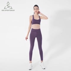 DRS SPORTS BRA WITH LEGGING HIGH-WAISTED 5 COLORS DRN09-12