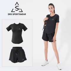 DRS WOMEN'S T-SHIRT & SHORT DRN06-13