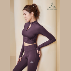 DRS SLEEVE CROPTOP & LEGGING DRN43 - 10