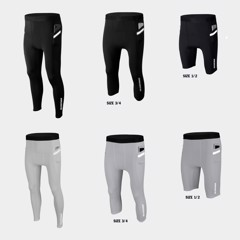 Combo 3 quần legging black and white!