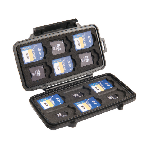 Hộp chống sốc thẻ nhớ Pelican Micro Memory Card Case 0915
