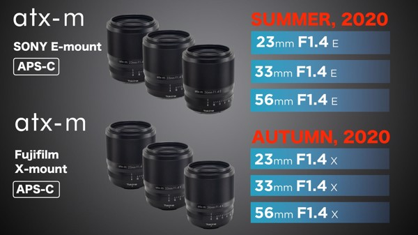 Ống kính Tokina ATX_M 56mm F1.4 for Fujifilm/Sony mirrorless APS-C