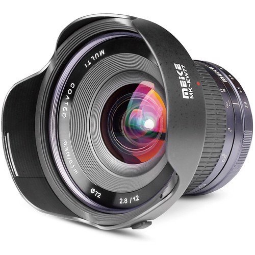 Ống kính MF Meike 12mm f2.8 for Sony E-mount