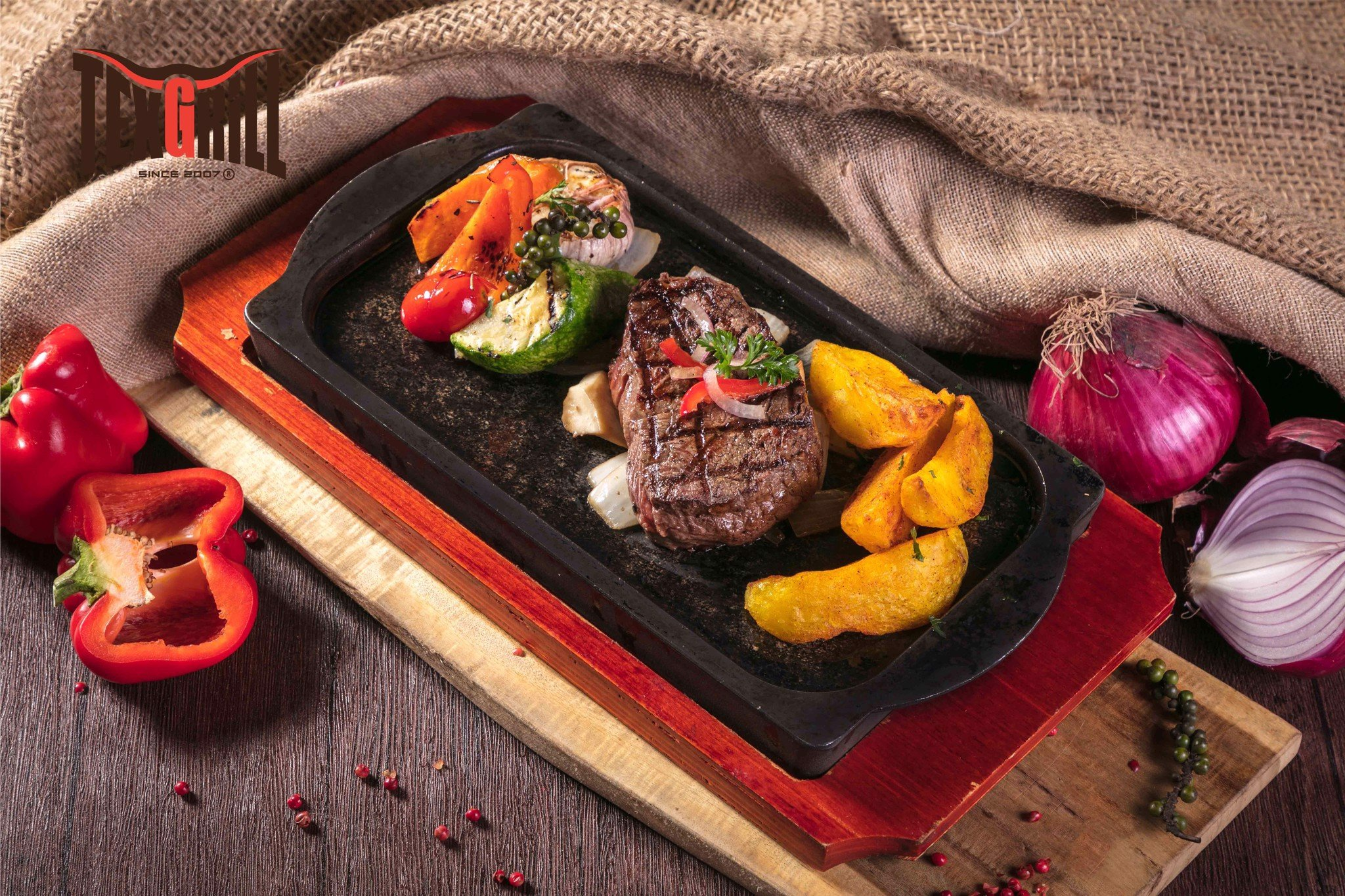 Sizzling Beef Steak