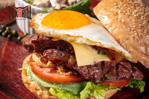 Aussie Steak Burger