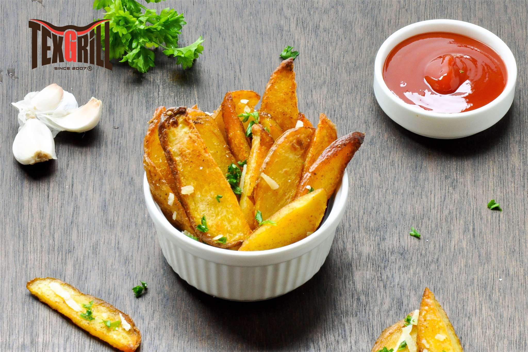 Potato Wedges or French Fries