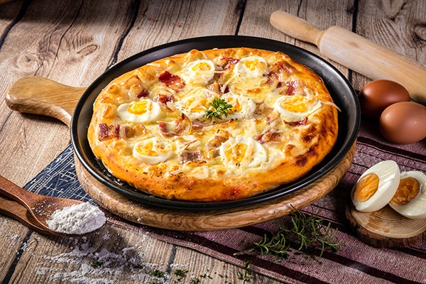 PIZZA #12 CARBONARA