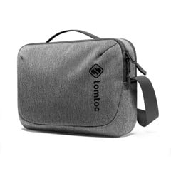 TÚI ĐEO ĐA NĂNG TOMTOC (USA) CROSSBODY FOR TECH ACCESSORIES AND IPAD 10.5/PRO 11INCH/TABLET/NOTEBOOK 11INCH GRAY H02-A01G