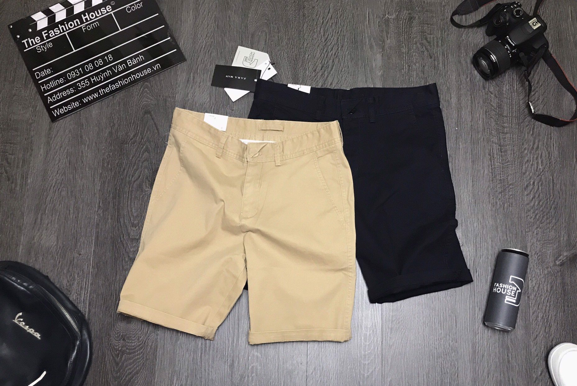 Short Kaki ZR QSZRH1