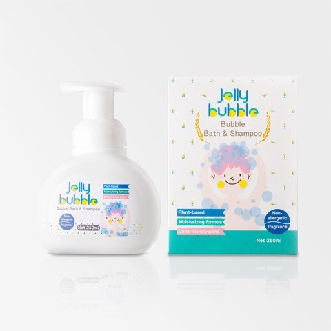 Sữa Tắm Gội 2 Trong 1JELLY BUBBLE - 250ml