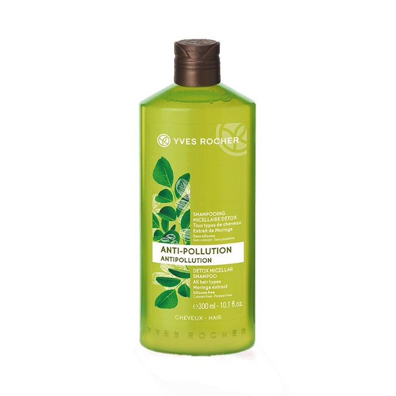 Dầu Gội Yves Rocher Anti Pollution Micellar Shampoo 300ml