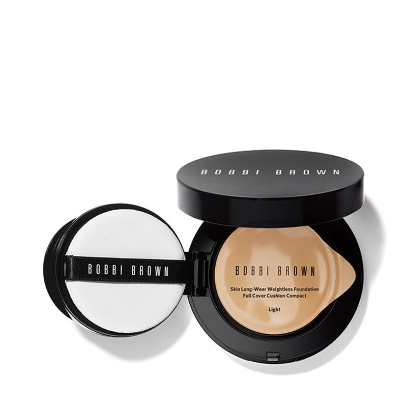 Combo Lõi Phấn Nền Và Vỏ Hộp Bobbi Brown Skin Foundation Cushion Compact Spf 35 - Refill -Light 13Gm