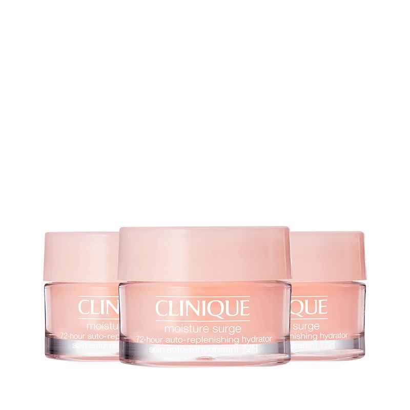 Combo 03 Gel Dưỡng Ẩm Clinique Moisture Surge 72-Hour Auto-Replenishing Hydrator 15mlx3