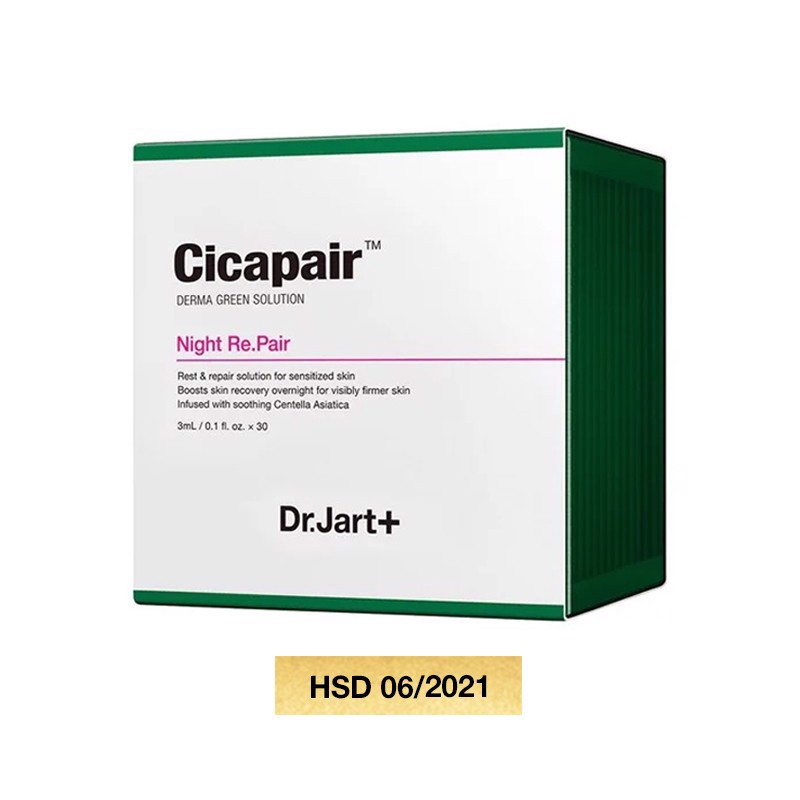 Kem Dưỡng Đêm Dr.Jart+ Cicapair Night Re.Pair 90ml 215