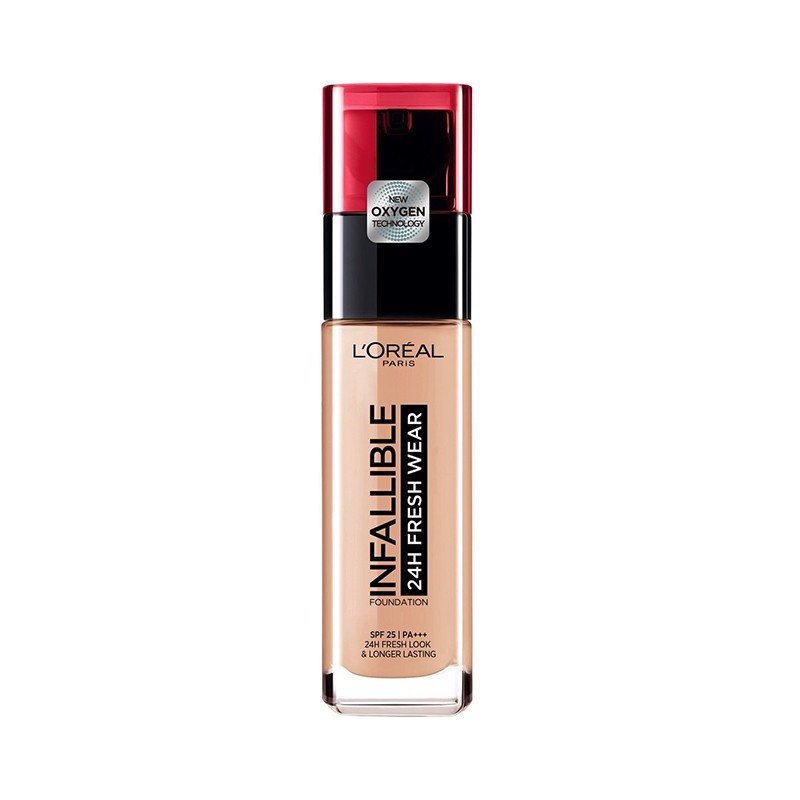 Kem Nền Lâu Trôi L'Oreal Infallible 24h Fresh Wear 200 Golden Sand 30ml.