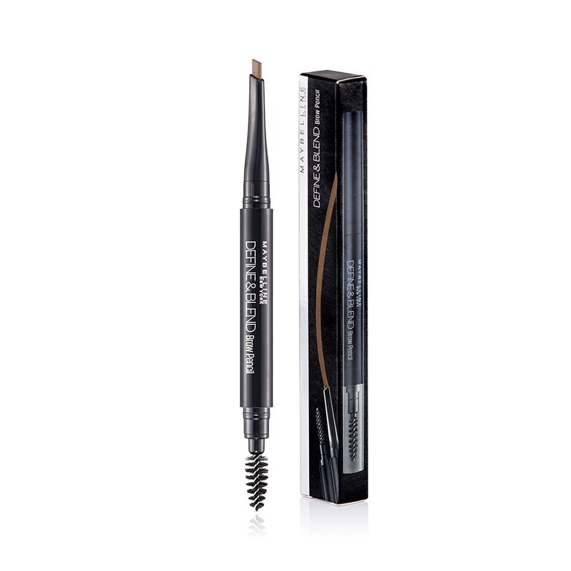 Chì Kẻ Mày 2 Đầu Maybelline Define & Blend Brow Pencil Red Brown 0.16g