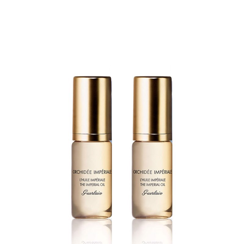 Combo 2 Dầu Dưỡng Da Guerlain Orchidee Imperiale The Imperial Oil 5mlx2
