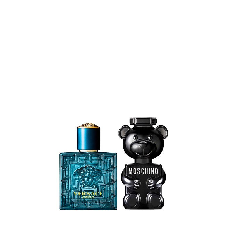 Combo Nước Hoa Mini Versace Eros EDT 5ml Và Moschino Toy Boy EDP 5ml