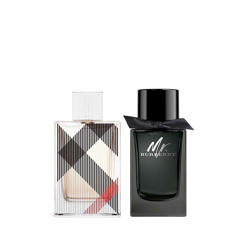 Combo Nước Hoa Mini Burberry Brit For Her Edp 5Ml - Burberry Mr.Burberry Edp 5Ml