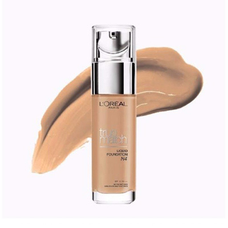 Kem Nền LOreal Paris True Match Liquid Foundation N4 - 30ml