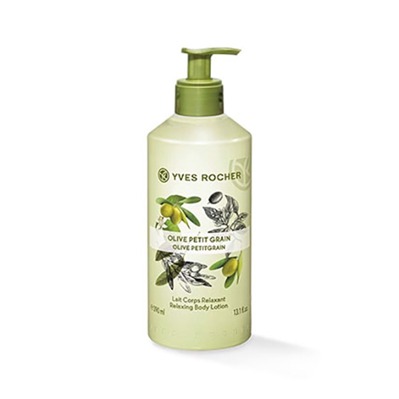 Dưỡng Thể Yves Rocher Relaxing Body Lotion Olive Lemongrass Fl 390ml