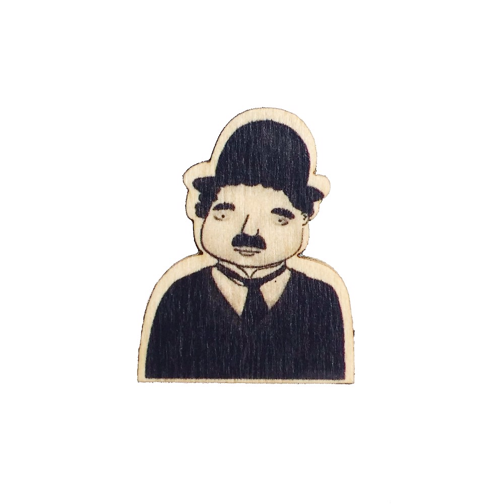 PS004 Pin Charlie Chaplin